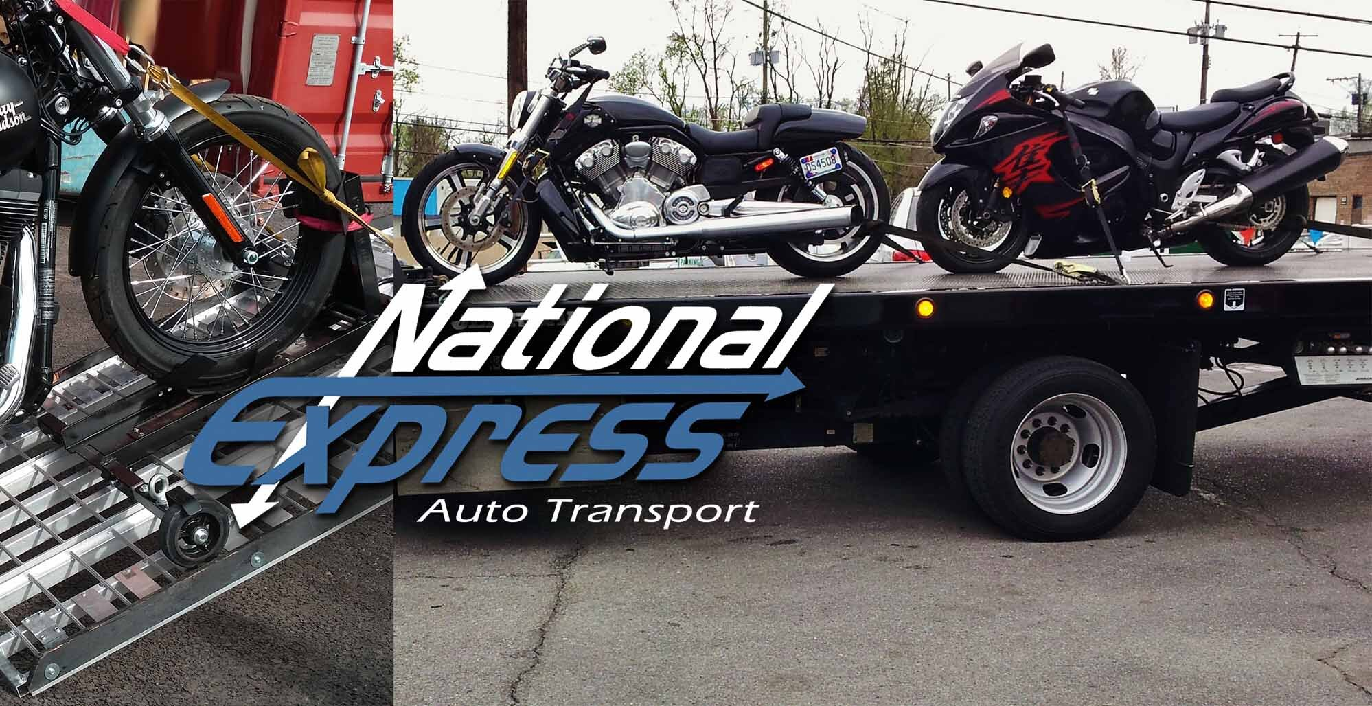national express motorcycle shipping