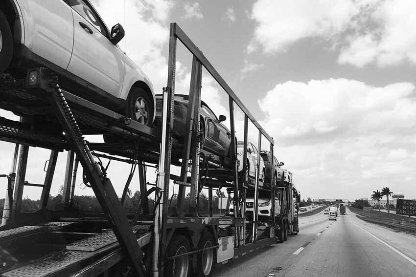 Auto Transport Carrier Truck