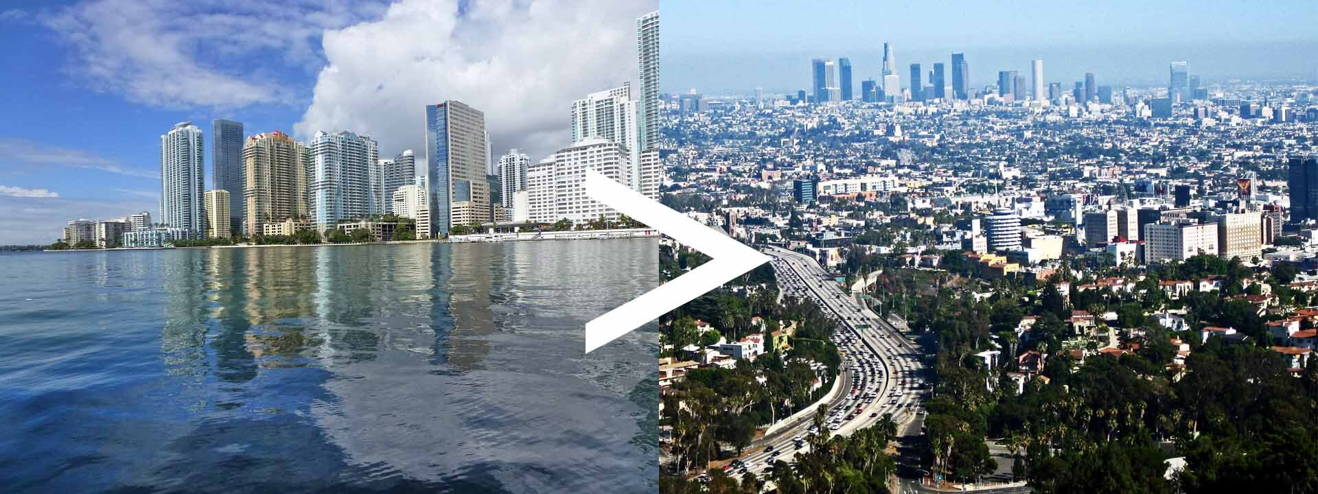 Florida to California Auto Transport