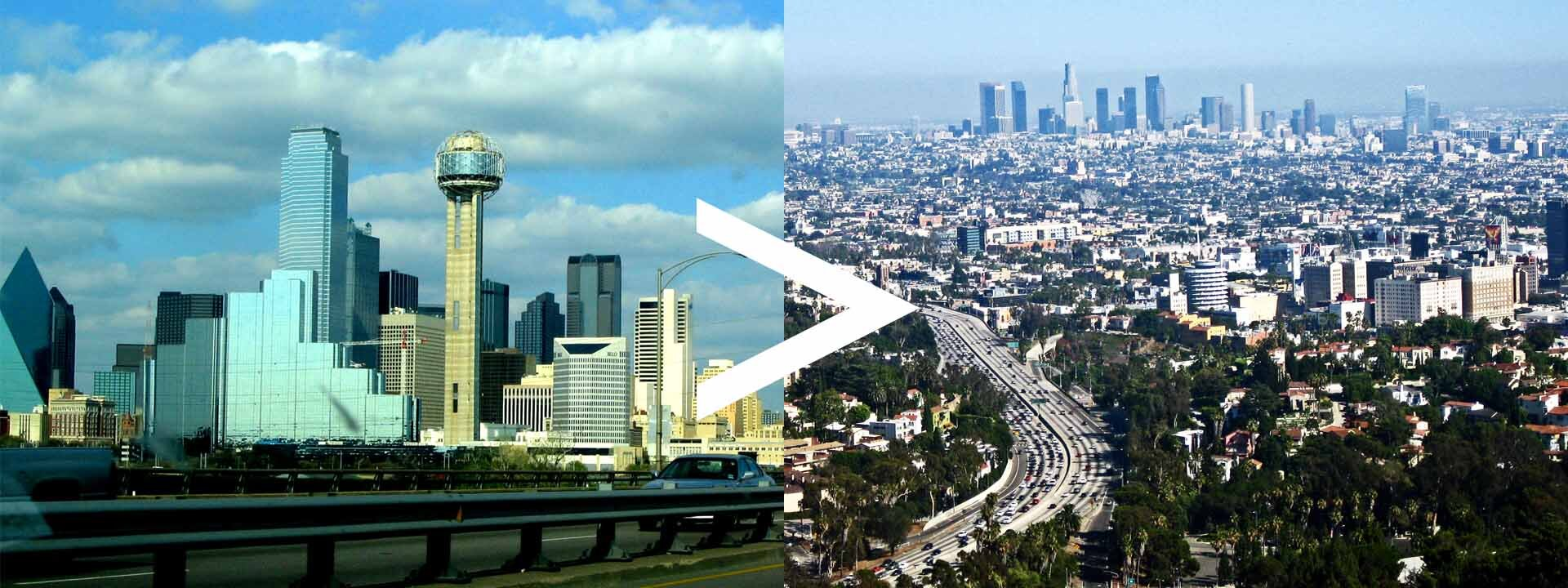 Texas to California Auto Transport