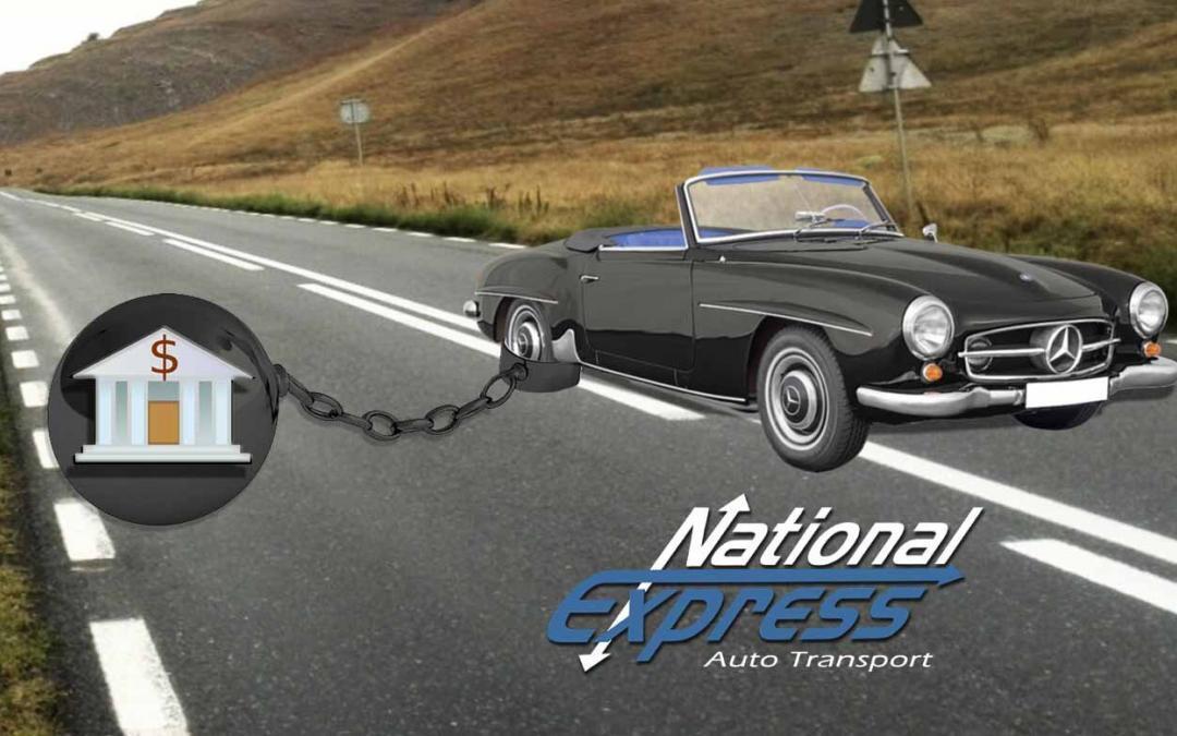 car with bank loan - shipping a car financed