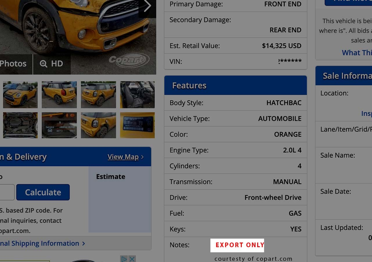 Shipping a Vehicle from Auction to Port | National Express